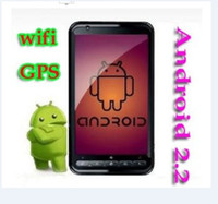 Wholesale 4 inch unlocked Android cell phone A2000 GPS wifi TV FM Camera SmartphoneS MTK6575