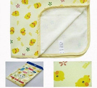 Wholesale cute baby changing pad cover mat baby diaper mat waterproof baby urinal pad size cm M lo