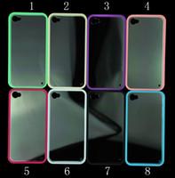 clear plastic case - For iphone S S Plus Transparent Clear Back TPU Bumper Frame Plastic Hard Cover Case For iPhone PC TPU Case