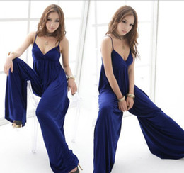 Wholesale 2012 New Hot Fashion Women s Sexy Dress Full length Evening Gown Long Dresses jumpsuit