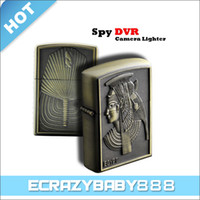 Wholesale 2 MP CMOS Exquisite Lighter Spy Camera Mini DV Video Recorder with Voice activated