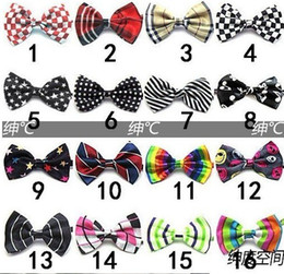 Wholesale 10pcs Children School Bowtie Kids Wedding Party Tie Baby Clothes Accessories