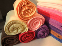 Wholesale 500pcs soft Microfiber Cleaning Cloth cm Multi purpose towels Microfibre