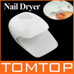 Wholesale EMS Portable Finger amp Toe Fast Nail dryer nail art tips Polish gel Dryer Blower H8836
