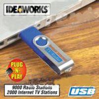Wholesale worldwide internet USB TV stick Video player ab