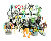 Wholesale Ben Alien Force action figure toys Set of Anime PVC Figures Ben10 figure set
