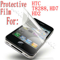 Wholesale Cheap Screen Protector for HTC cell phone for T8288 HD7 HD2 Can choose WEIL