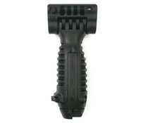Wholesale Black color Tactical Vertical ForeGrip Combat Bipod fit mm