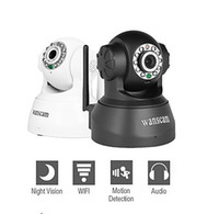 Wholesale Wanscam Wireless IP Surveillance Camera with Angle Control Motion Detection Night Vision Free DDNS