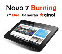 Wholesale 7 IPS NOVO Ainol Flame Burning Dual Core Ghz Android Dual Camera G G