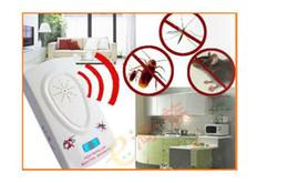 Plagas ultrasónico electrónicas alta Mosquito repelente de insectos para mosquitos insectos ratas ratones V7078