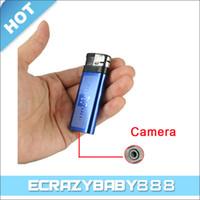 Wholesale Aluminum P Multimedia Recording lighter spy camera playback U disk function recorder