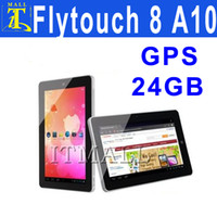 Wholesale Flytouch quot Android Allwinner A10 GB GB HDMI GPS Tablet PC Superpad Flytouch G