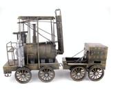 antique handicrafts - Gran Torino Train Antique decoration wrought iron model handicraft
