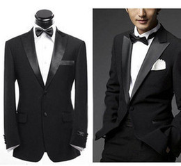 Wholesale custom made men s suits jacket pants girdle bow bridegroom wedding suits groom suits