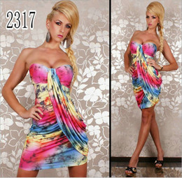 Wholesale Fashion Dress Package Hip Sleeveless Dress Sexy Backless Dresses Girls Dress Sexy Club Wear
