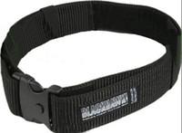 belt webbing belt - style BlackHawk nylon webbing belt Black