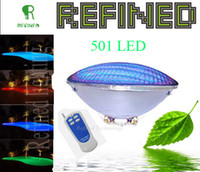 Wholesale Par56 led swimming pool lights bulb W led RGB remote multi color