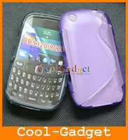 Wholesale S Line Soft TPU Gel Skin Case Cover for Curve BB9320C01