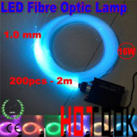 Wholesale LED W Multi Colored Fibre Optic DIY Ceiling Kit Light Engine