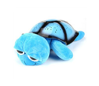 Wholesale Twilight Turtle Starry Sky Projector Lamp Night Light with MP3 Music Playing Functionality Supports MicroSD Cards Cute LED Toy
