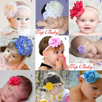 Wholesale baby headband flower baby hairbands infant hair tie girl head bands gift Children s Hair Accessories