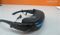 Wholesale 2GB quot Virtual Screen Cinema Eyewear Mobile Theatre Video Glasses for ALLA