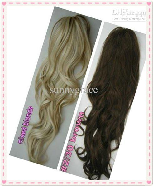 Clip In Hair Extensions Ponytail Human Hair 7