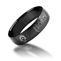 Wholesale World of Warcraft Horde Ring Pendants Badge Titanium