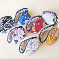 Wholesale New cute Cartoon earmuffs warm Earmuffs Winter Plush Ear Muffs Ear Covers ear hats