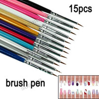 Wholesale Nail Art Brush Set Painting Pen Dotting Acrylic Tool Brushes Set