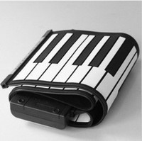 Wholesale 61 KEYS ROLL UP SOFT PORTABLE ELECTRONIC PIANO KEYBOARD