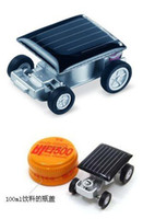 Wholesale Mini Solar Powered Racing Car Fun Gadget For Kids ic