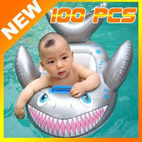 Wholesale Baby Kids Water Pool Swim Ring Seat Float Boat Swimming Aid Tube With Wheel Toy