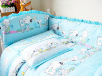 Wholesale set baby cartoon beding set for kids bedding set lovely style mix order drop sh