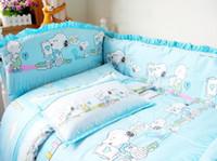 baby beding set - set baby cartoon beding set for kids bedding set lovely style mix order drop sh