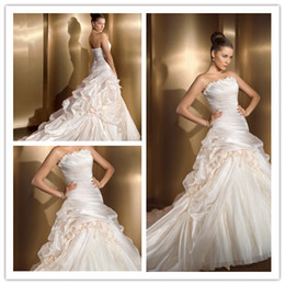 Wholesale 2012 NEW Custom made wedding dress bridal gown discount On sale High quality all size NEW