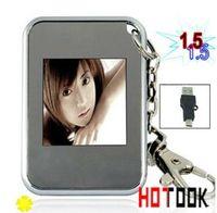 achat en gros de numérique porte-clés-1,5 pouces Viewer cadre photo numérique LCD Mini / Photo avec DHL Keychain Bithday Cadeau Free Ship