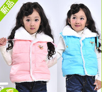 Wholesale Children clothes Kids Cotton Vest Girls Waistcoat
