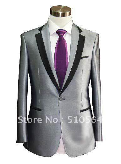 Wholesale Silk &Amp; Polyester Tuxedos Wedding Groomsman ...