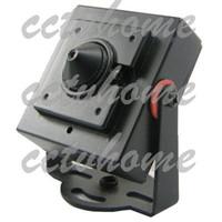 Indoor CMOS  Free Shipping! Mini HD 600TVL 2.5mm Pinhole CMOS High Resolution Video Security CCTV Camera with MIC