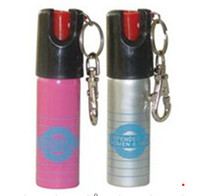 Wholesale Self Defense Device Pepper Spray with A Keychain two color option