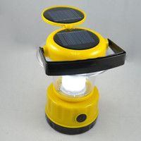Wholesale New Design Solar Panels LED Ligh Camping Lantern Light For Outdoor Emergency