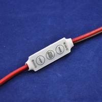 DC 12V  10pcs lot,12V 24V,72W 144W,Convenient Operation,Mini Hand Control RGB Controller For RGB Led Lights