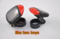 Wholesale bicycle tail led light adjustable clamp solar panel energy rechargeable car tail lamp wheel light