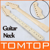 Wholesale Replacement Maple Strat Style Guitar Neck Fingerboard for ST Strat Stratocaster Electric Guitar I114