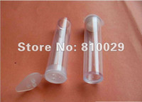Wholesale 100pcs ml glitter powder container sifter jar plastic tube glitter shaker bottle cosmetic jar