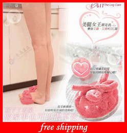 Wholesale Most Fashion Slimming Slippers Foot Slippers Lose Weight Slipper Leg Slimming Pink