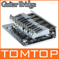 Wholesale Guitar Parts mm Chrome Strings Saddle Hardtail Bridge Top Load Top Loading I116