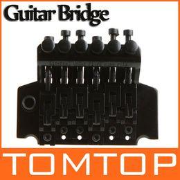 Wholesale Guitar Tremolo Bridge Double Locking Systyem Black Floyd Rose Lic I117